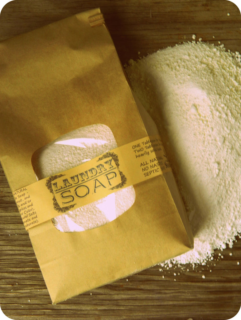 Natural Laundry Soap - 1.5 pound bag or jar