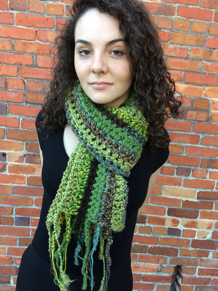 Double Thick & Long Forest Scarf