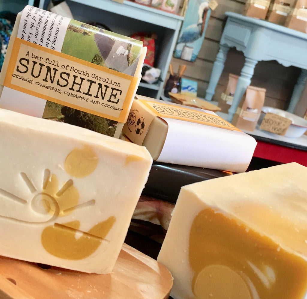 SC Sunshine Handmade Soap