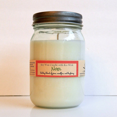 Noel Scented Soy Wax Candle