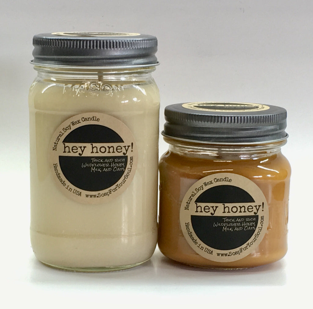 Hey Honey! Scented soy candles