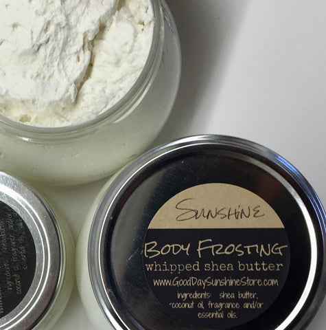 Body Frosting -Whipped Shea Butters