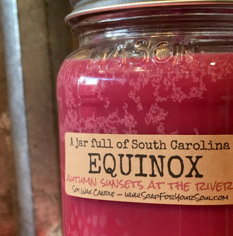 Equinox scented SC Candle