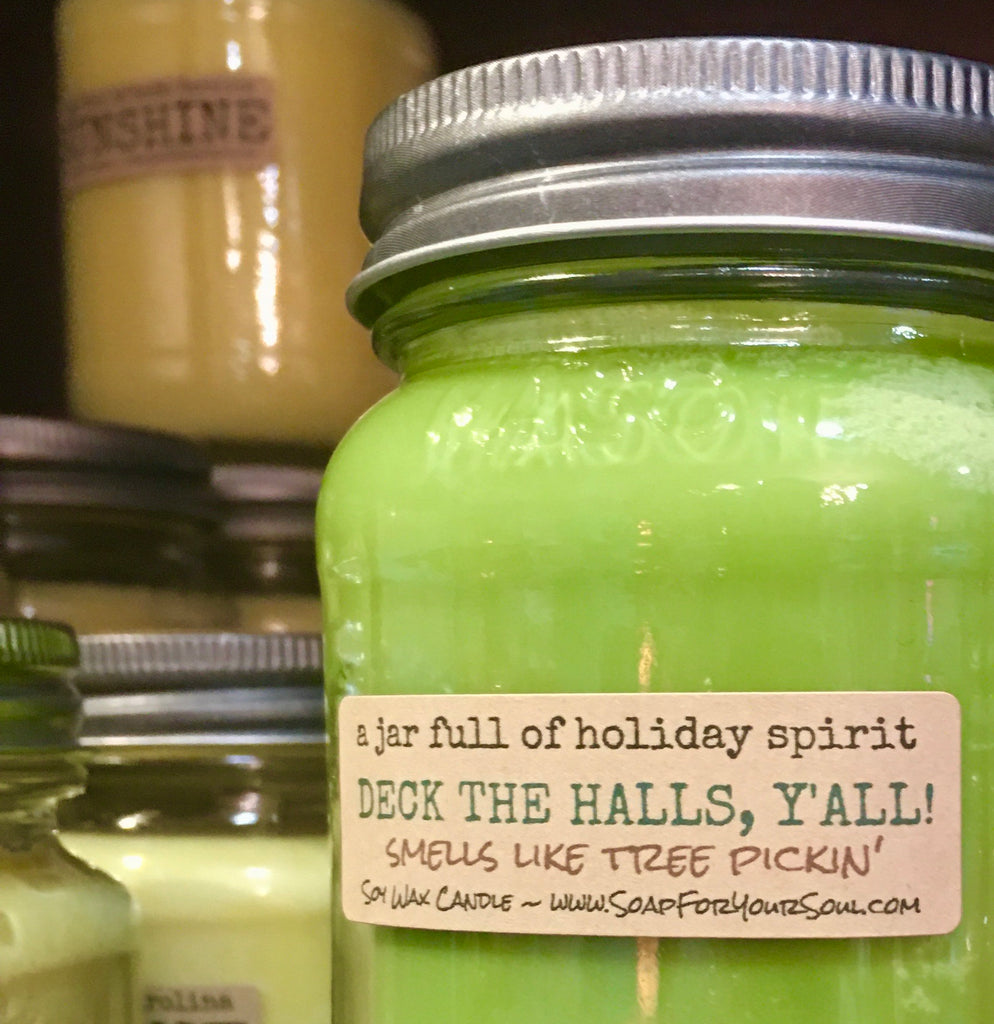 Deck the Halls, Y'All - Christmas Scented Candle
