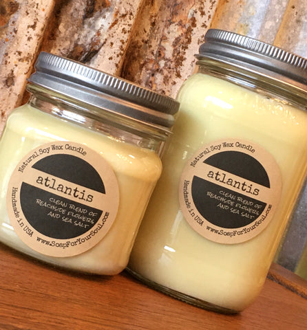 Atlantis scented Soy Candle