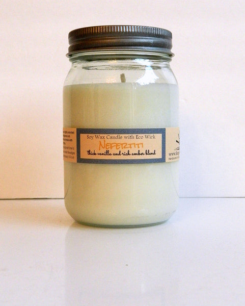 Nefertitti Scented Soy Wax Candle