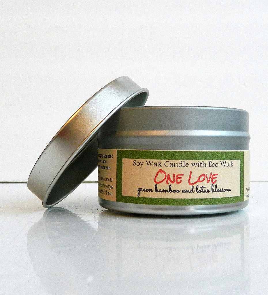 One Love Scented Soy Candle