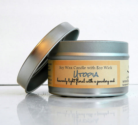 Utopia Scented Soy Wax Candle