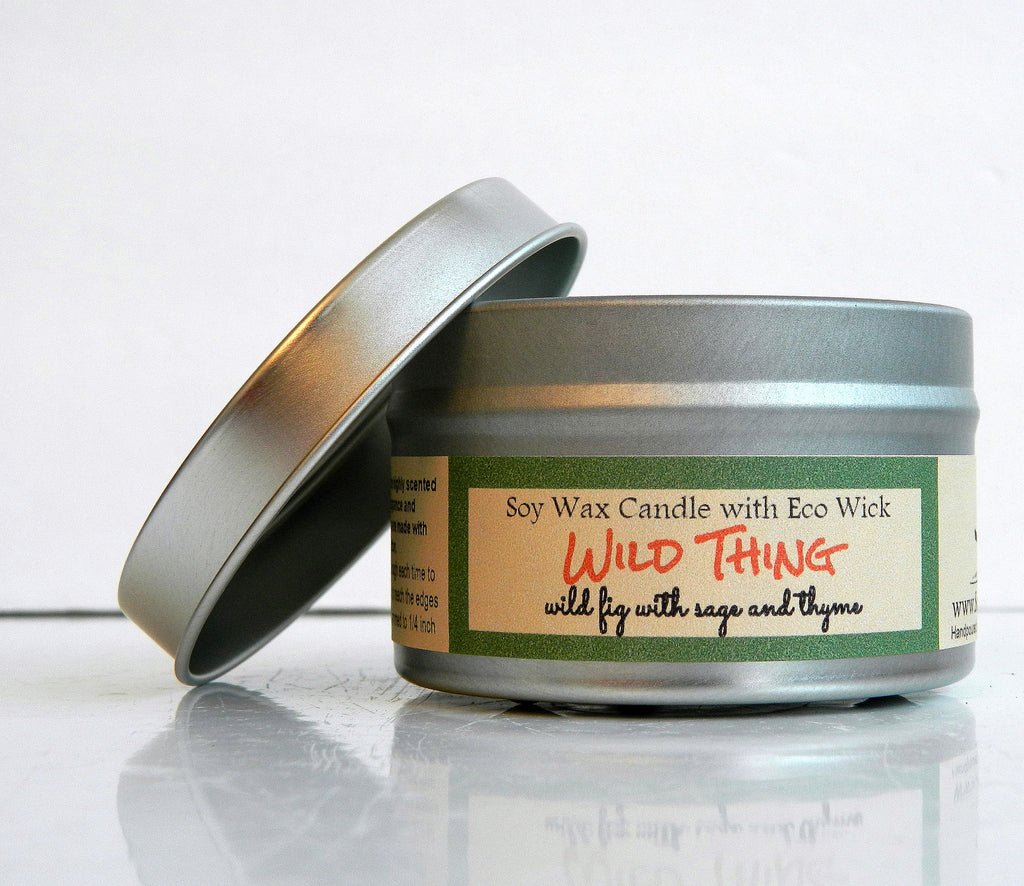 Wild Thing Scented Soy Wax Candle