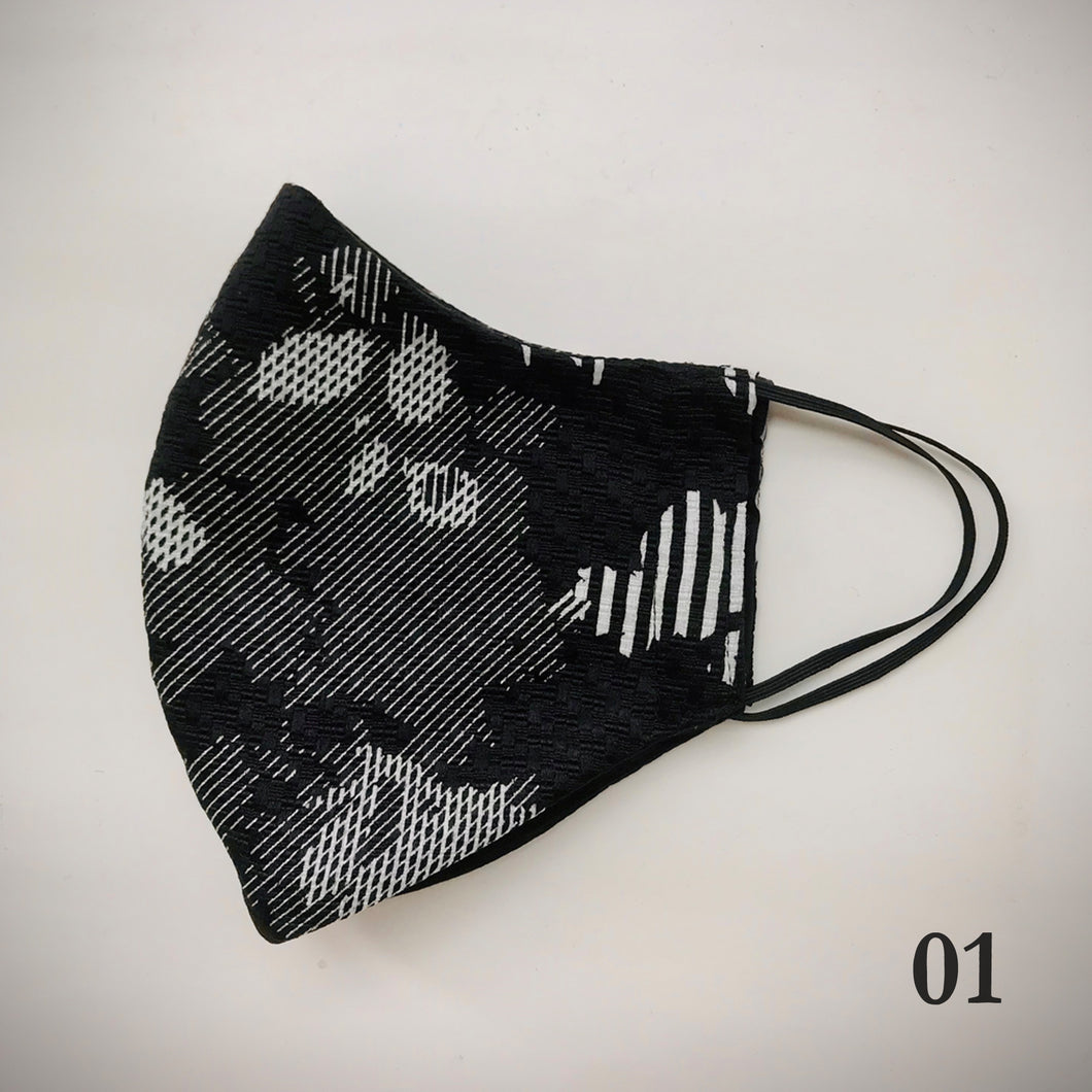 Cloth Face Mask 3D Shape - phenotypsetter, fashion designer label, unisex, women, accessories