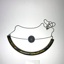 Load image into Gallery viewer, Wire Tube Necklace U - phenotypsetter, fashion designer label, unisex, women, accessories