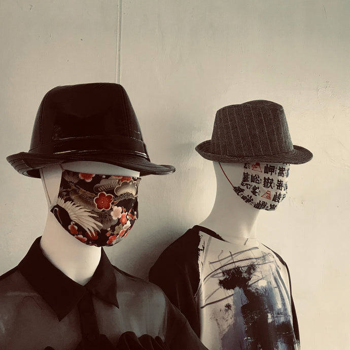 Cloth Face Mask - Fabric from Japan - phenotypsetter, fashion designer label, unisex, women, accessories