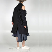 Load image into Gallery viewer, Long Coat Open Drop - phenotypsetter, fashion designer label, unisex, women, accessories