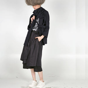 Kimono Jacket with Scarf - phenotypsetter, fashion designer label, unisex, women, accessories