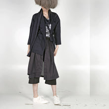 Load image into Gallery viewer, Kimono Jacket with Scarf - phenotypsetter, fashion designer label, unisex, women, accessories