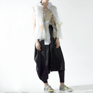 Skirt - Half Cocoon & Half A line - phenotypsetter, fashion designer label, unisex, women, accessories