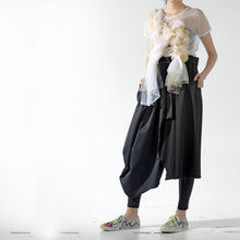 Load image into Gallery viewer, Skirt - Half Cocoon & Half A line - phenotypsetter, fashion designer label, unisex, women, accessories