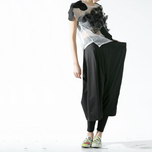Trousers - Asymmetric leg width - phenotypsetter, fashion designer label, unisex, women, accessories
