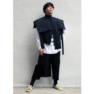 Cape - Shirt Cutout (Padded) - phenotypsetter, fashion designer label, unisex, women, accessories