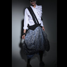 Load image into Gallery viewer, Skirts - Cocoon Two Layers & Suspenders - phenotypsetter, fashion designer label, unisex, women, accessories