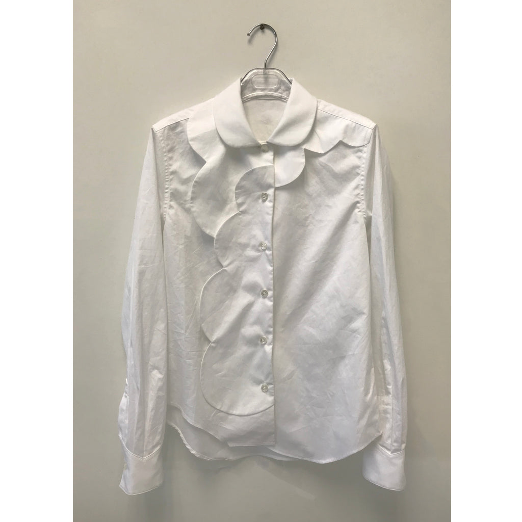Circles Placket Shirt - phenotypsetter, fashion designer label, unisex, women, accessories