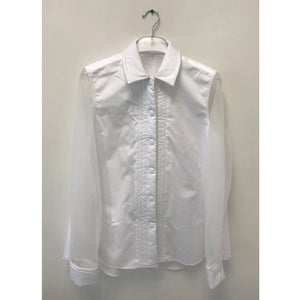 Padded Collar Shirt - phenotypsetter, fashion designer label, unisex, women, accessories
