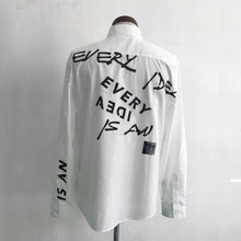 Load image into Gallery viewer, Shirt with Slogan Print