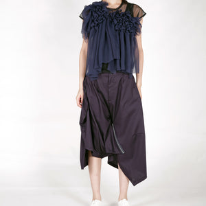 Top - Gather Chiffon - phenotypsetter, fashion designer label, unisex, women, accessories