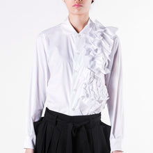 Load image into Gallery viewer, Blouse Ruffle Left - phenotypsetter, fashion designer label, unisex, women, accessories