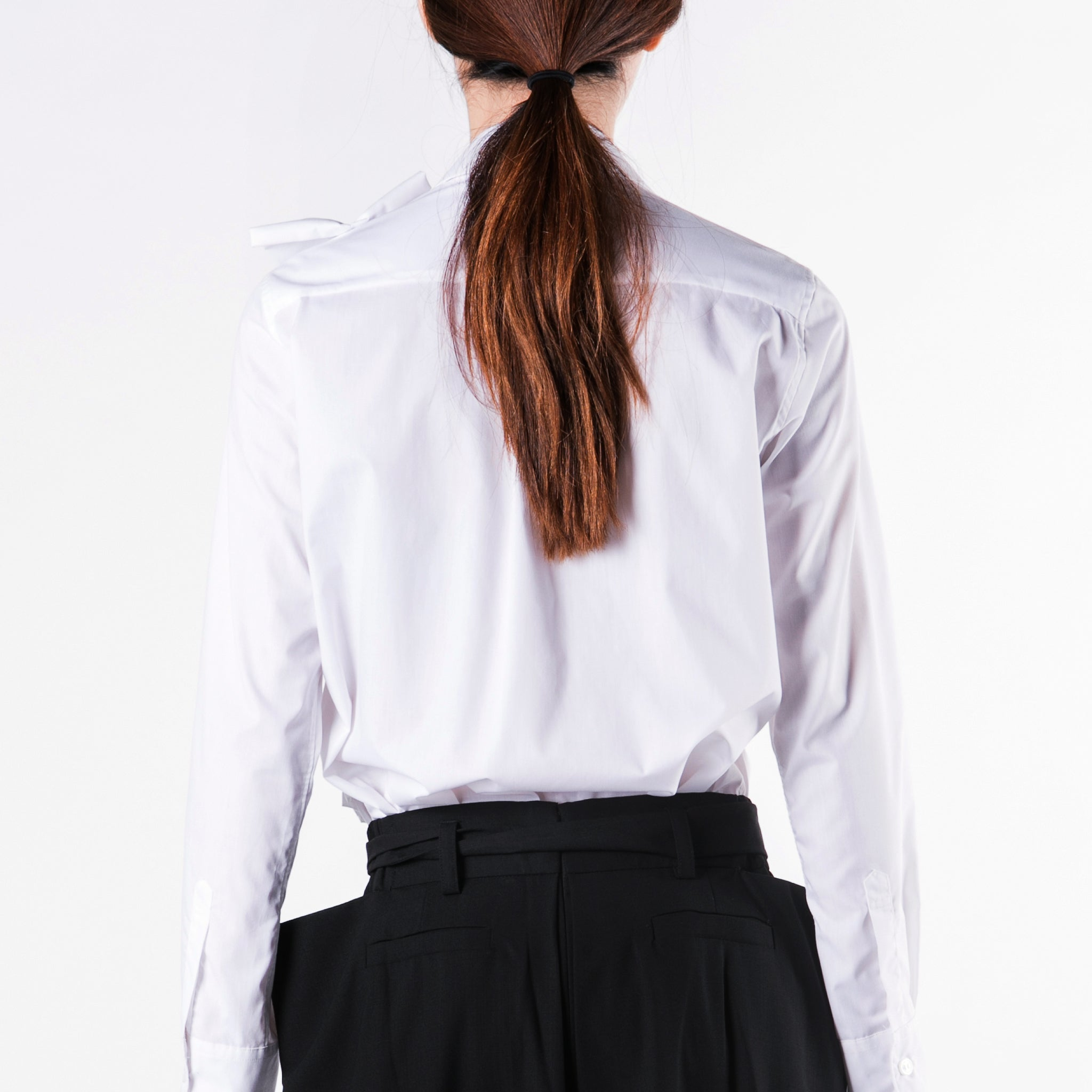 Blouse Ruffle Left - phenotypsetter, fashion designer label, unisex, women, accessories