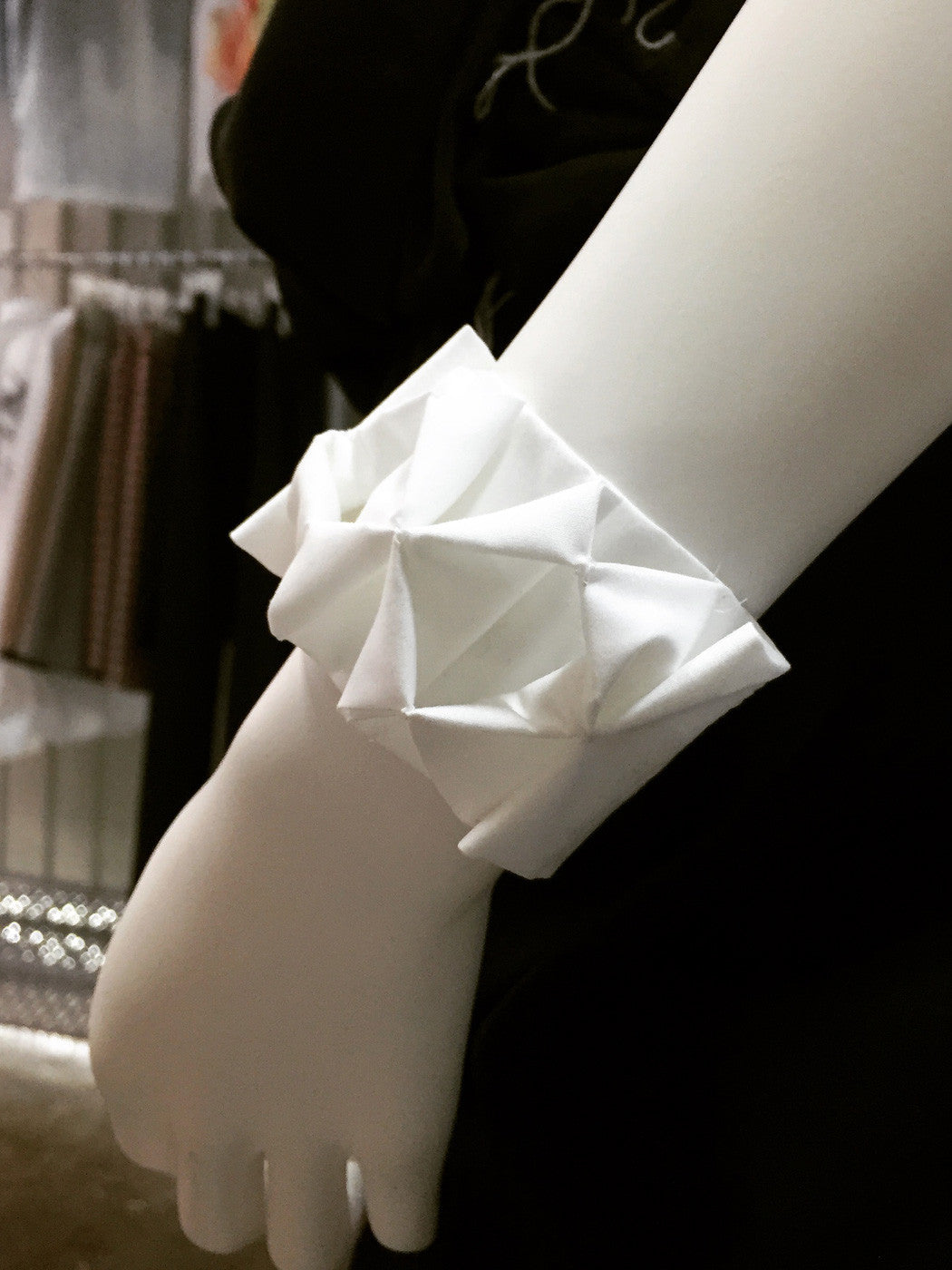 Smocking Cuff - phenotypsetter, fashion designer label, unisex, women, accessories