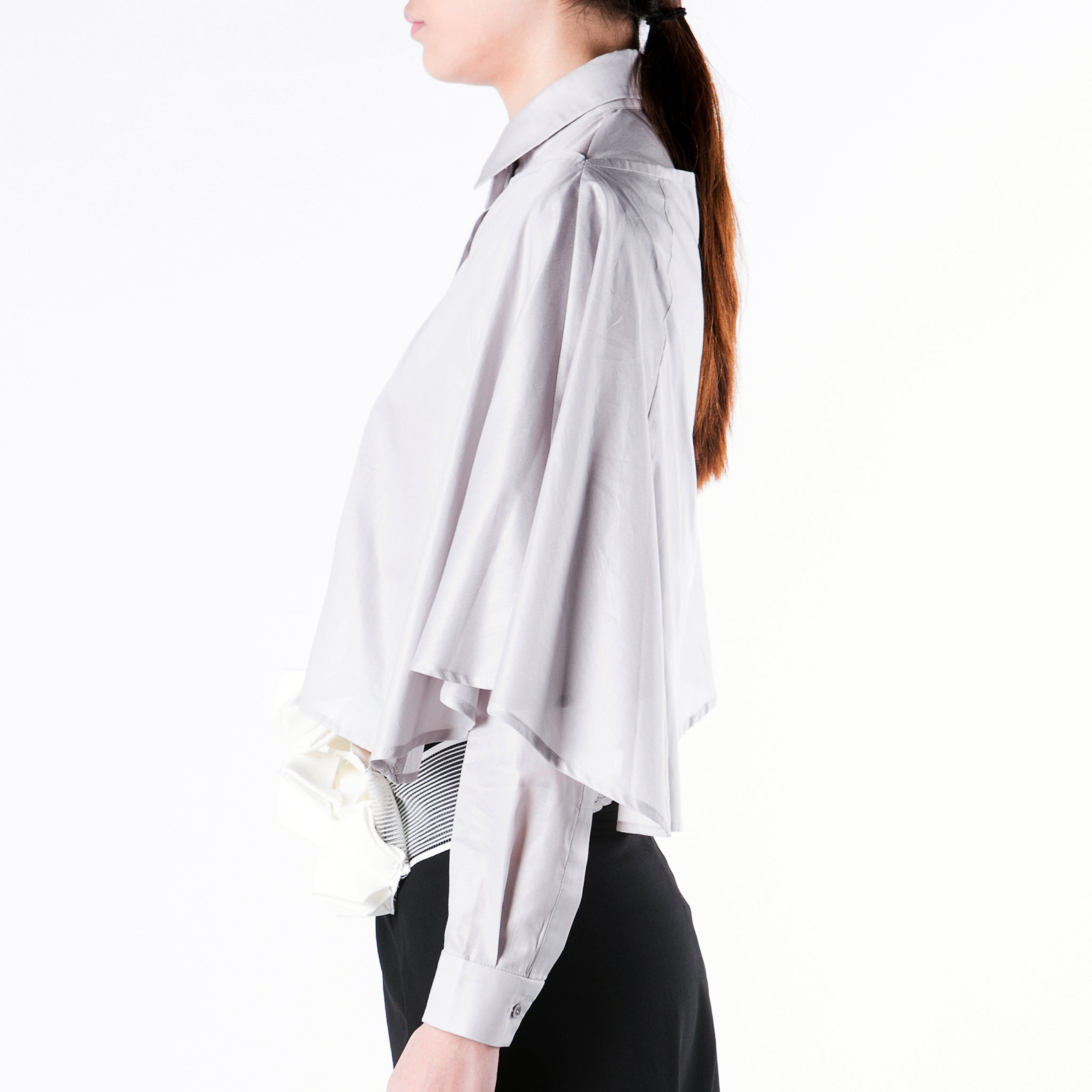 Shirt Cape - phenotypsetter, fashion designer label, unisex, women, accessories