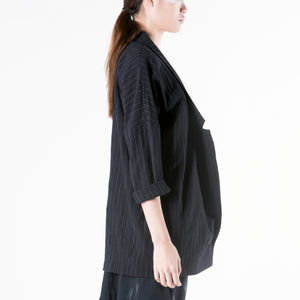 Jacket Kimono Style Knot Closure - phenotypsetter, fashion designer label, unisex, women, accessories