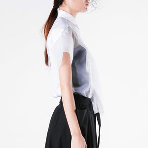 Blouse Organza Layers - phenotypsetter, fashion designer label, unisex, women, accessories