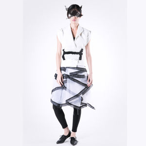Jacket Elevated Hexagon - phenotypsetter, fashion designer label, unisex, women, accessories