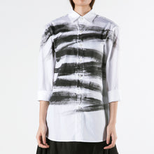 Load image into Gallery viewer, Shirt Hand-painted Strokes - phenotypsetter