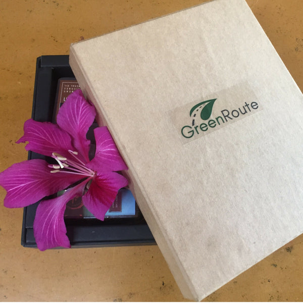3 boxes (6 month subscription/Free Shipping) - GreenRoute, beauty box, India, natural products