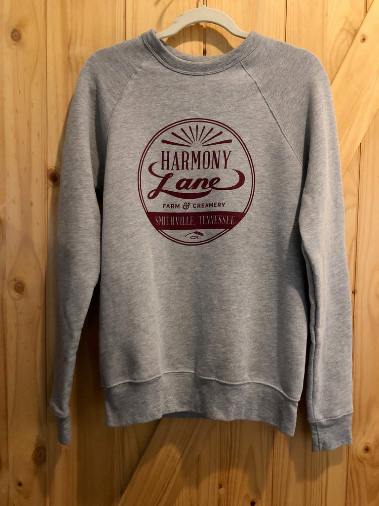 Grey Long Sleeve Bella+Canvas Sweatshirt