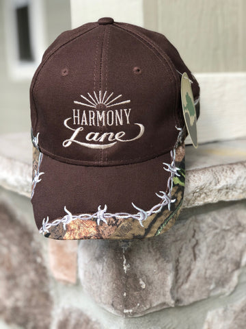 Brown Fitted Mossy oak Hat