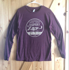 Harmony Lane Maroon Long Sleeve T-shirt