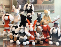 Crocheted Goats