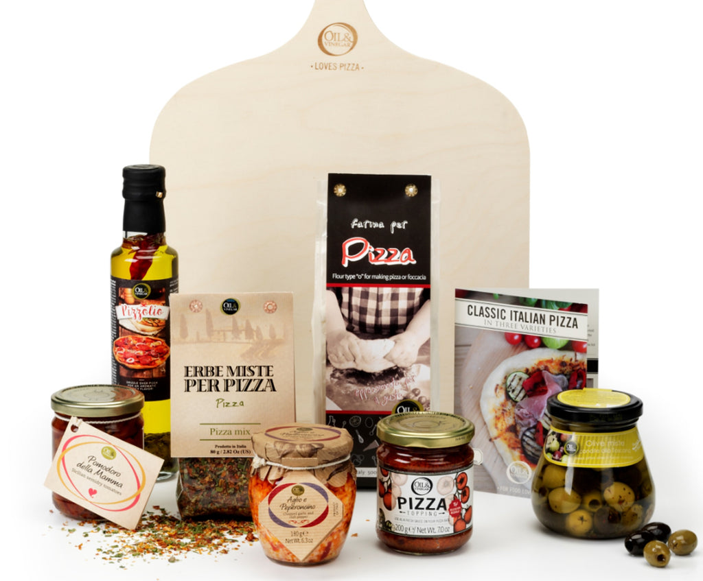 Gourmet Pizza Party Gift Basket