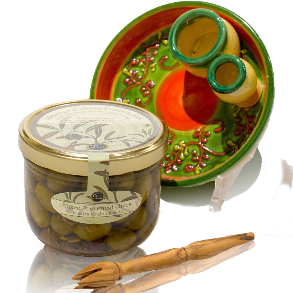 Olive Plate Gourmet Gift Set ...