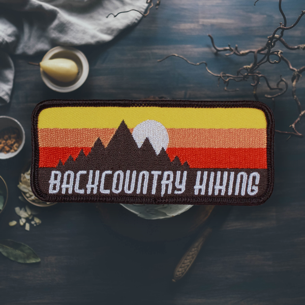 Backcountry Hiking Patch