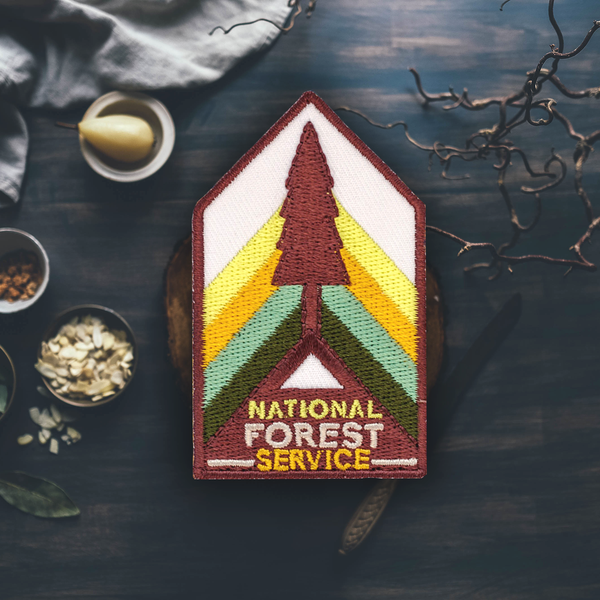 National Forest Service Patch