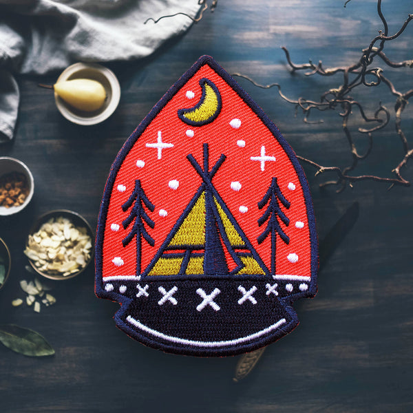 Arrowhead Camping Patch