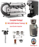 Simonelli Aurelia WAVE Digit Espresso Machine Coffee Shop Package - Java Exotic Imports