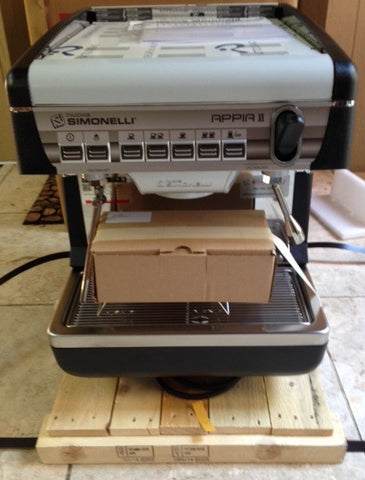 MAKE AN OFFER - Simonelli Appia II Volumetric w/ Autosteam 1 Group - STORE DEMO - Java Exotic Imports