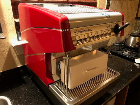 Simonelli Appia II Volumetric 1 Group with Autosteam Wand - Dealer Demo