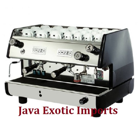 La Pavoni Bar T Series 2 Group Volumetric Espresso Machine at Java Exotic Imports - Lowest Prices, Free Shipping, NO TAX!